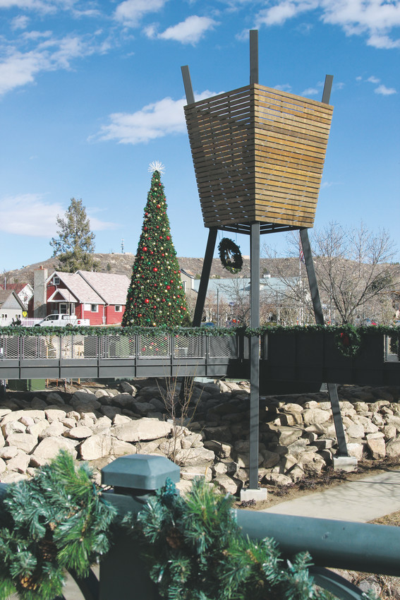 After nearly a year of construction, Castle Rock's redesigned Festival Park opened on Nov. 18, debuing the town's vision for a modern public gathering place.