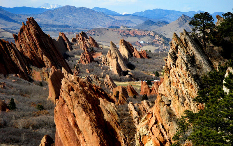 Roxborough State Park is one of the state parks participating in the First Day Hike initiative. The park has three separate events planned.