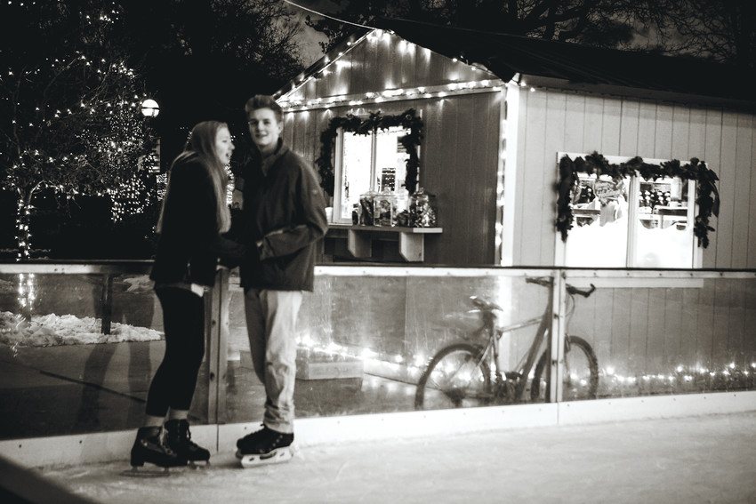 Boulder Creek Events hosts two outdoor ice rinks, one in Louisville and the other in Boulder, every winter. Both are great sites for family events, as well as a romantic evening out.