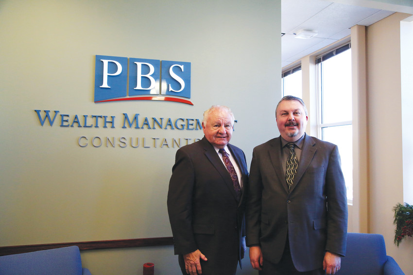 Roger and Eric Johnson are the father-son team heading PBS Wealth Management Consultants.