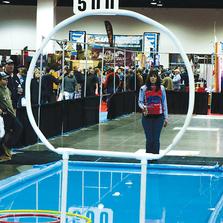 Anglers can try their hand at casting a fly rod during the Denver International Sportsmen's Expo from Jan. 11 through 14.