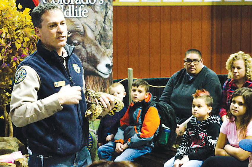 The Denver International Sportsmen's Expo features a variety of classes and seminars, including representatives from Colorado Parks and Wildlife.
