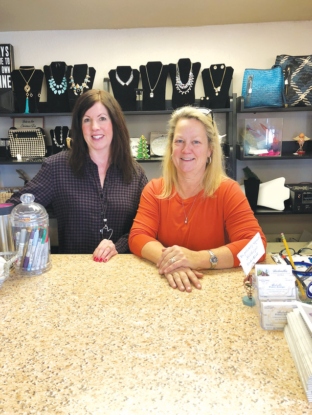 Kim Beaver (right) has owned Skadoodles Women's Boutique for about 12 years in Castle Rock.