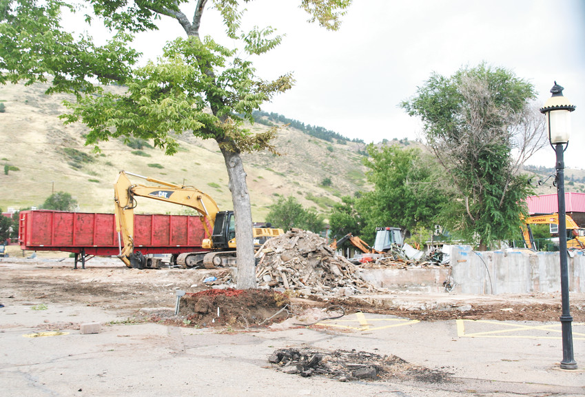 Once home to a Victorian-themed shopping village, playhouse and the Alpine Slide, Heritage Square is now in the process of being demolished, which is expected to be complete by the end of this year. Property owner Martin Marietta has no definite plans for the property's future.