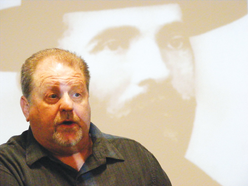 Magician Mark Strivings tells the tale of Soapy Smith, a legendary Old West swindler who made it big in pioneer Denver.