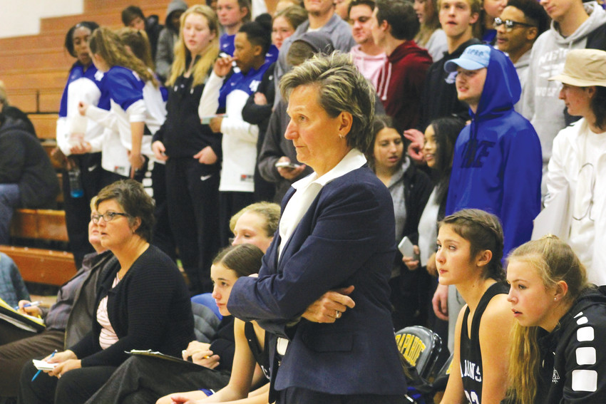 Highlands Ranch coach Caryn Jarocki has compiled more wins than any girls basketball coach in state history.