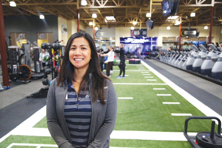 Nikki Sumait is the general manager of the new 24 Hour Fitness Arvada West Super-sport.