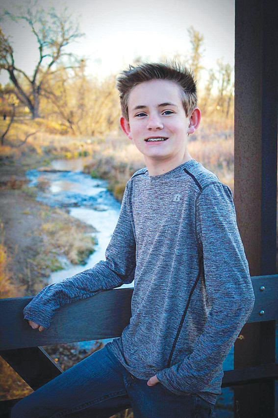 Accent on Hearing helped Memphis Oldham, 13, receive a pair of digital hearing aids when he was 6 years old. The Castle Rock teen was wearing older analog hearing aids prior to then.