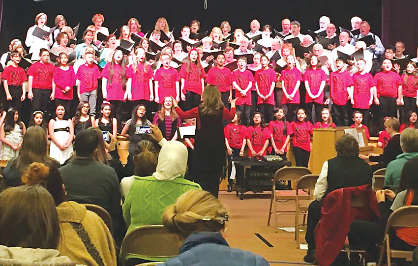 Voices West will present a pay-what- you-are-able concert to benefit music programs at Littleton's East and Field elementary schools, where the chorale offers extra instruction and help with materials.