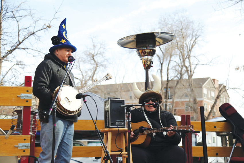 Music flowed from two stages during the weekend bluegrass festival.