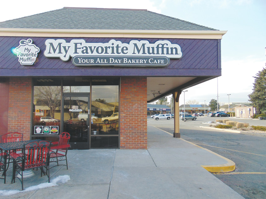 My Favorite Muffin, a bakery and cafe in the Shoppes at Columbine Valley, closed on Jan. 28.