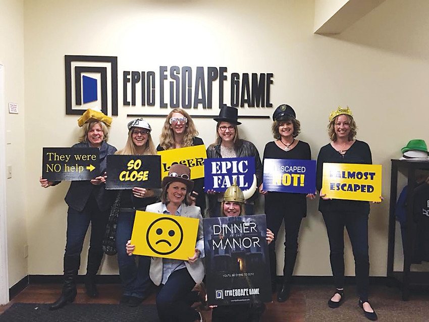 In one event hosted by the Castle Rock Moms Social Group, organizer Inger Hiller planned an outing for the group to Castle Rock's escape room.