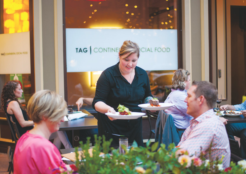 Downtown Denver's Tag Restaurant is one of the more than 200 restaurants participating in the annual Denver Restaurant Week.