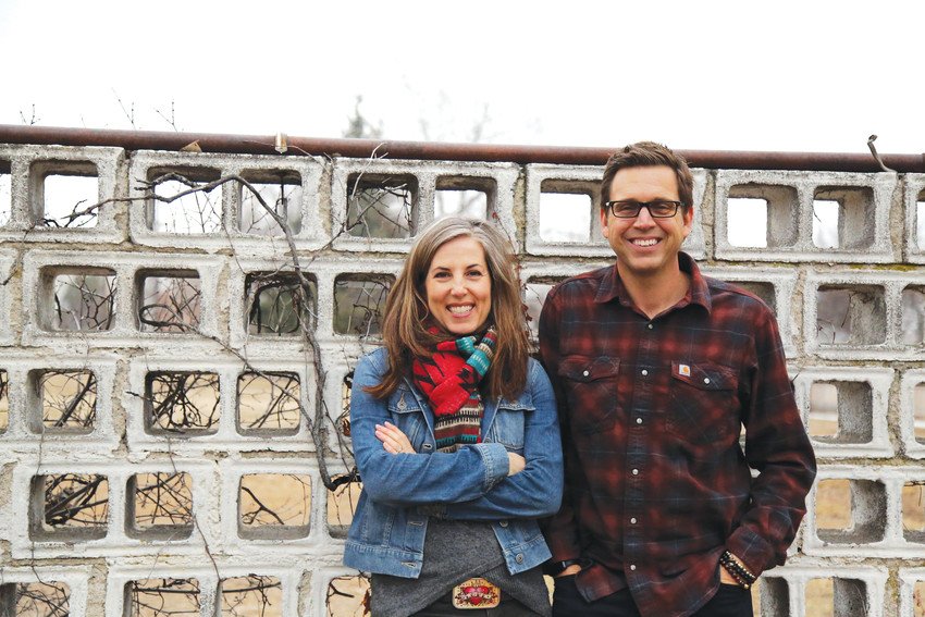 "Gina and Rodman Schley are filming the third and fourth seasons of their show, ""Urban Conversion,"" on a farm they bought in Arvada."