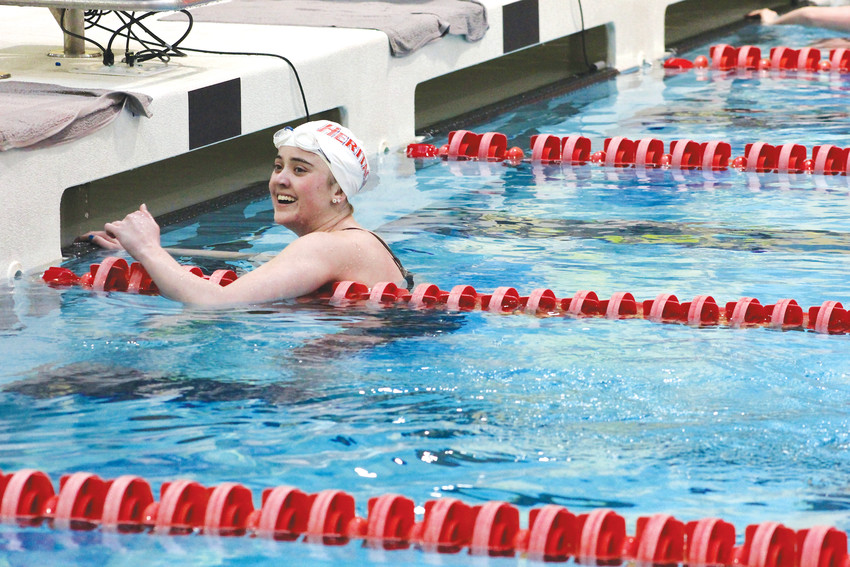 Heritage's Kylie Andrews is the  Colorado Community Media South Metro Girls Swimmer of the Year.