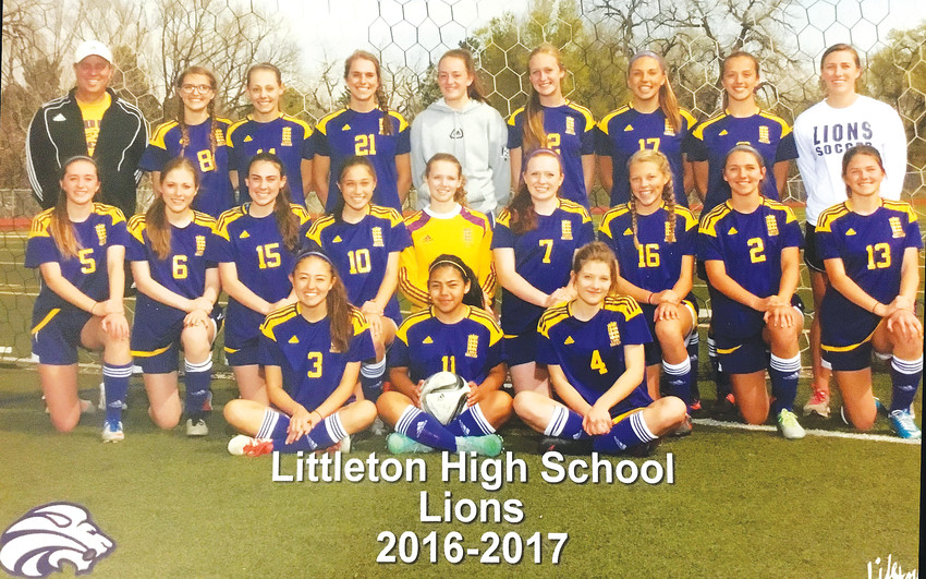 Littleton High School's girl's varsity soccer team took home its 19th consecutive academic achievement award in February, tying a national record.