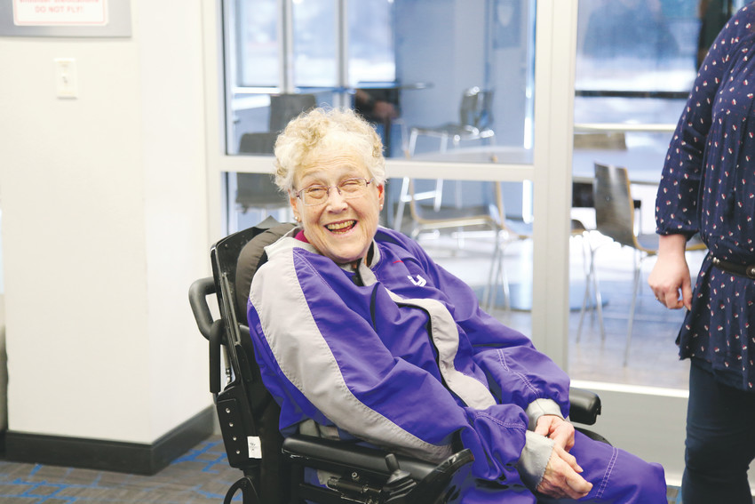 Arvada Brookdale Senior Living resident Trudy Goldman was granted an indoor skydiving experience at iFly in Lone Tree through Wish of a Lifetime.