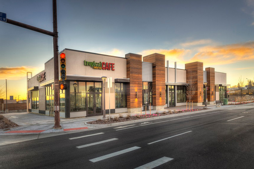 Tropical Smoothie is one of four businesses now open in the Ralston Creek shopping center.