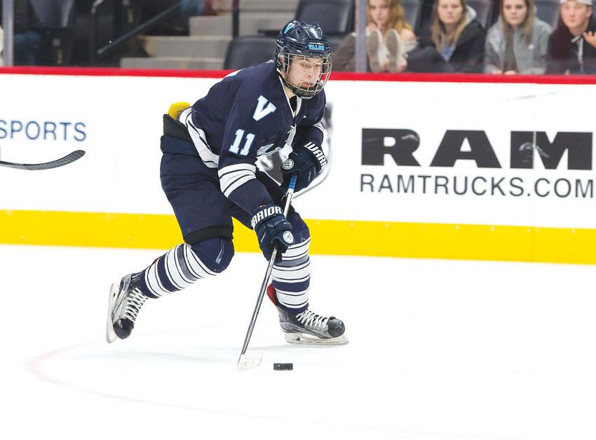 Valor Christian's Luke Wheeler is the Colorado Community Media South Metro Hockey Player of the Year.