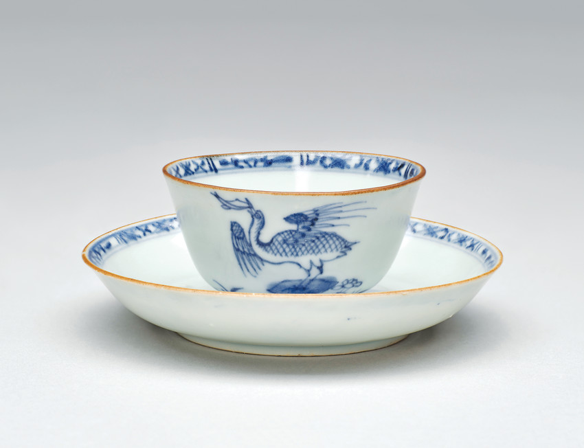 Cup and Saucer found in the Griffin Shipwreck are among items illustrating trade routes along the Silk Road by land and water-through April 1 at the Denver Art Museum. An elegant history lesson!