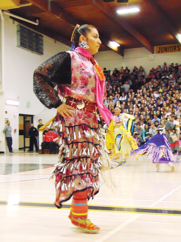 Buffalo Soldier Wolf-Villa is a 2006 graduate of Arapahoe High School, and a member of the Arapaho tribe.
