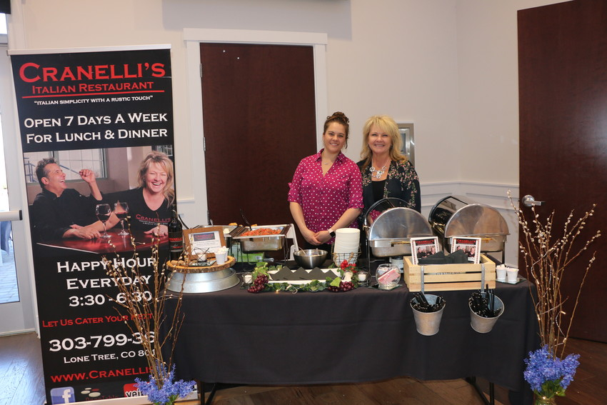 There was plenty of guests talking about the food provided by Craneli's Italian Restaurant at the wedding expo held at The Falls Event Center.