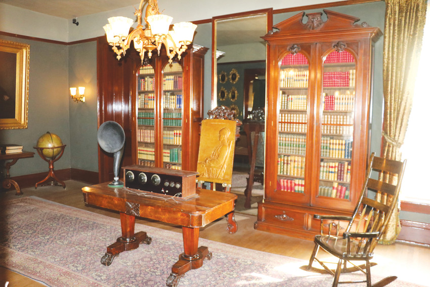 The library in the Byers-Evans House Museum, which will now be home of the Center for Colorado Women's History. The space will be home to book clubs and other lectures hosted by the center.