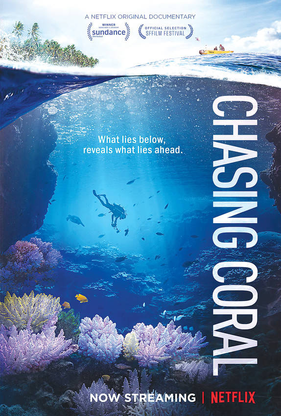 """Chasing Coral"" is an award-winning film that documents the changing coral reef ecosystems and why they are vanishing at an unprecedented rate. Learn more at www.chasingcoral.com."