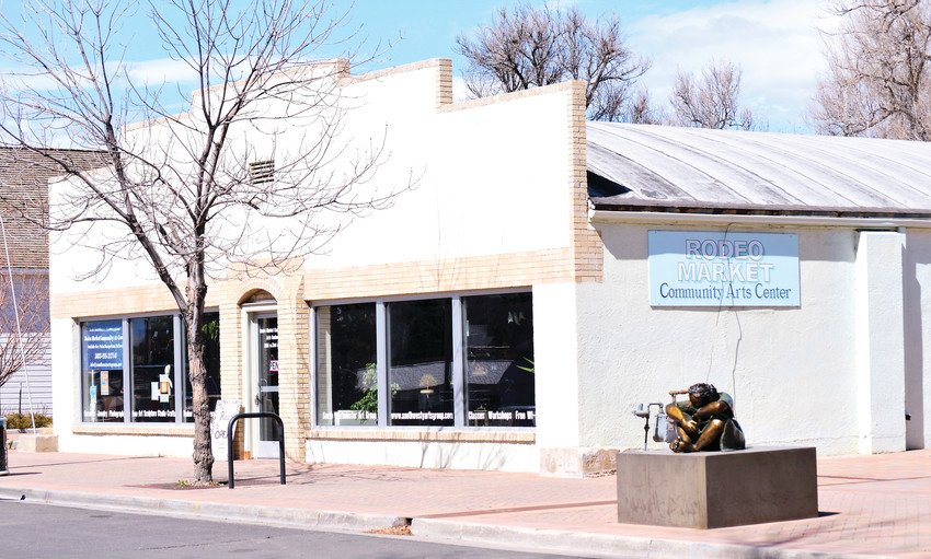 Members of the South Westminster Arts Group have until June 1 to find a new headquarters after the city informed the group it can no longer use the Rodeo Market building.