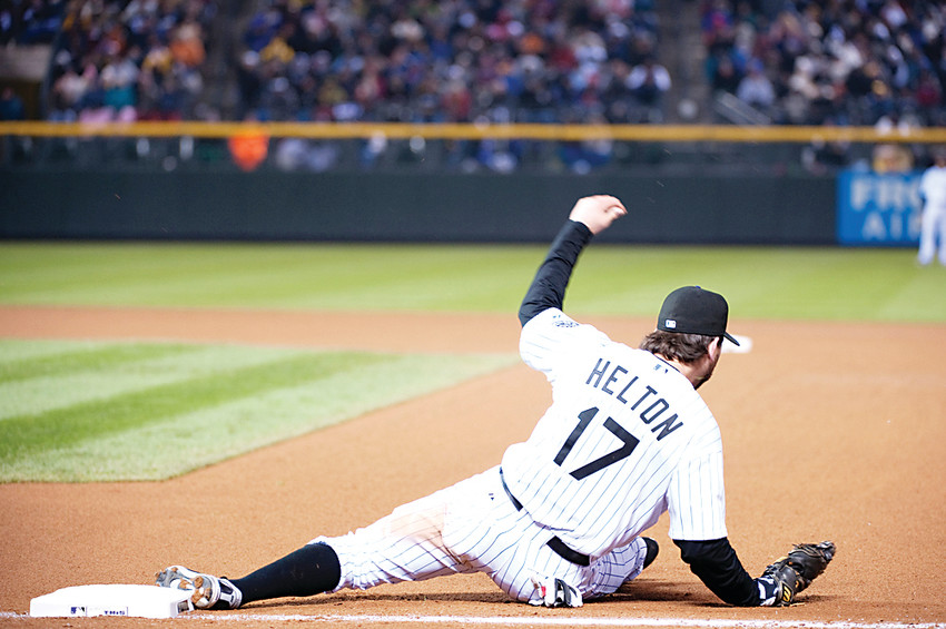 "Todd Helton, who retired after the 2013 season, was one of the best first basemen of his era with the Colorado Rockies. ""Stopping playing and taking your kids to and from school, that's a big adjustment,"" he said. ""It was hard.''"