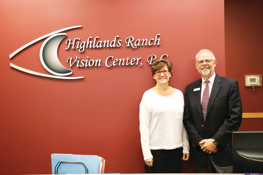 "April 19 marks 30 years for Sue and Mitchell Munson's business, Highlands Ranch Vision Center, 8925 S Ridgeline Blvd. ""It's become a vibrant community,"" said Mitchell."