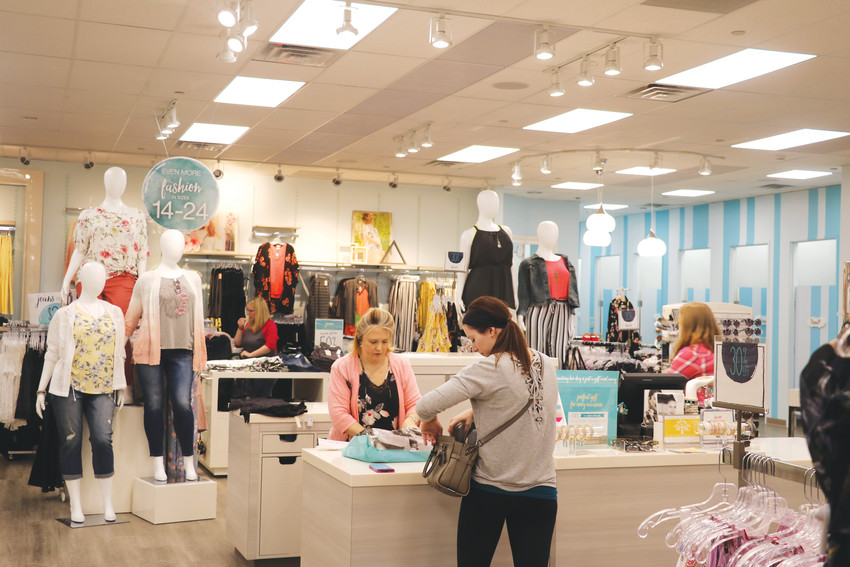 "Guests shop at the Colorado Mills Maurices location. Maurices was one of the stores that reopened on Nov. 21, in time for the holiday season. ""We're super excited about the new changes and the future here,"" said Roxanne Maine, manager of the store."