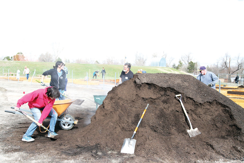 The school-based community garden will open in time for this year's gardening season.