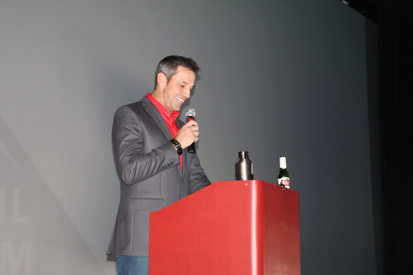 Vail Film Festival host Bill LaVasseur at the festival's awards ceremony on April 7.