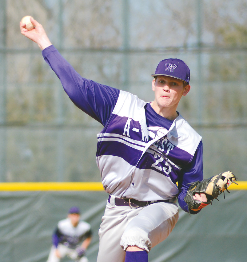 Arvada West junior Jackson German picked up his second victory on the mound this season going five innings in an 11-7 victory for the Wildcats.