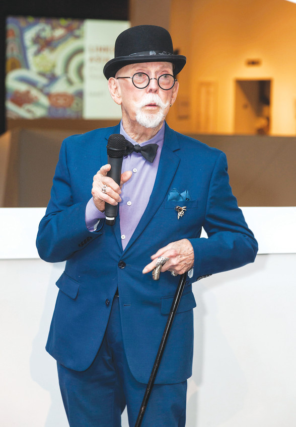 Fashion Illustrator Jim Howard speaks about a selection of 100 of his drawings, created over a 40-year career. They are exhibited at the Denver Art Museum. Howard, a Lakewood resident now,  worked for Nieman Marcus and several major New York department stores when illustrations were used for advertisements, rather than photos.