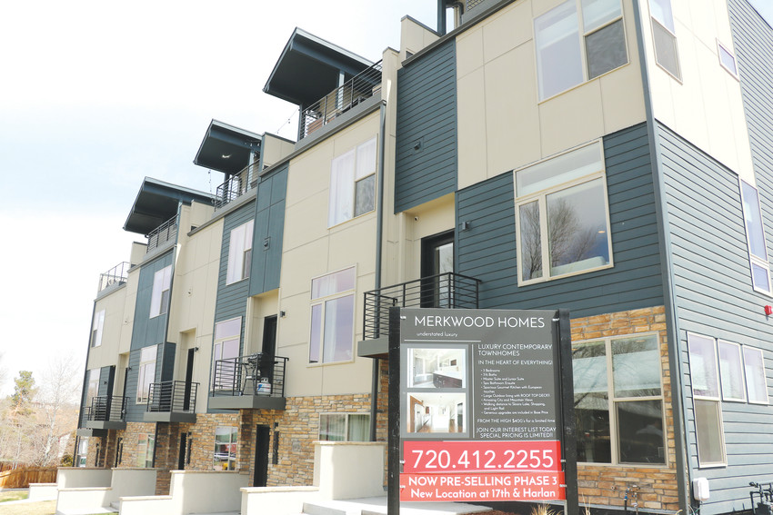 Merkwood Homes' City View town homes, built in east Lakewood and already sold out. The builder is working on a similar project on the other side of Walker Branch Park to bring more diverse housing stock to Lakewood.