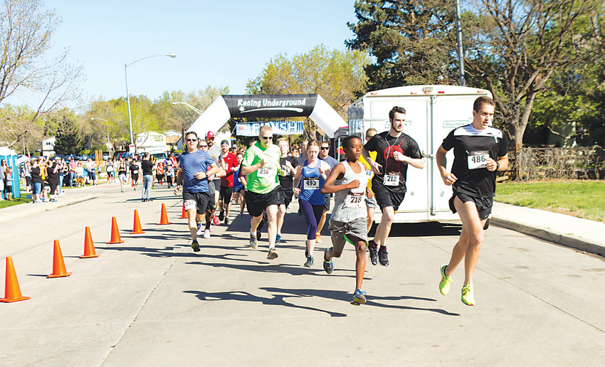 The 2017 Hope House 5K and Fun Run brought over 350 people to Lake Arbor Park in Arvada.