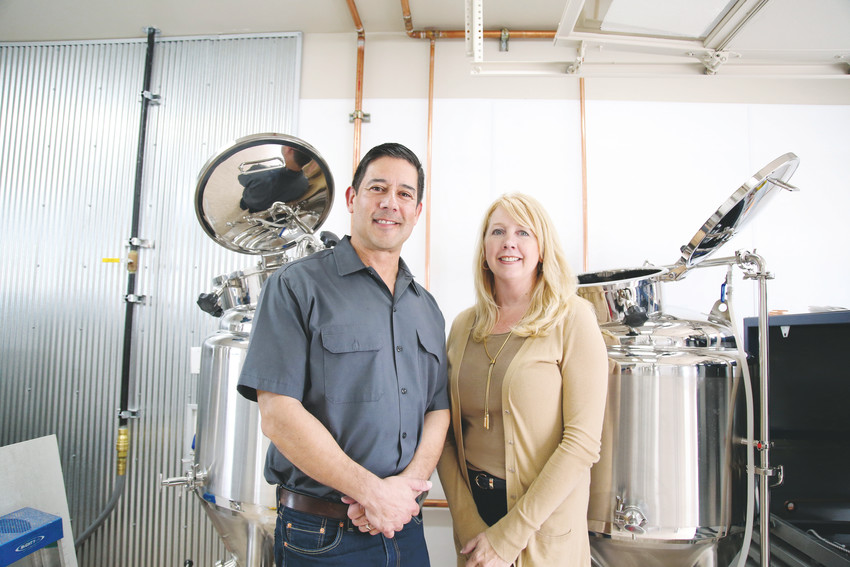 Arvada couple Keith and Jodi Villa co-founded Ceria Beverages, which is producing the first cannabis-infused non-alcoholic craft beverages containing THC.