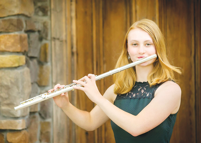 Flutist Megan Doyle, a Golden High School Senior, is winner of Denver Concert Band's annual Young Artist scholarship Award. She will perform at Lone Tree Arts Center on April 28.