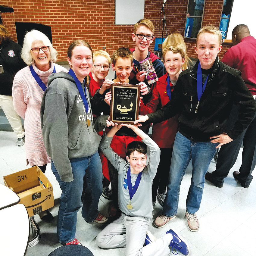 Elizabeth Middle Schoolers attended the Tri-County Knowledge League Bowl held in Fountain.