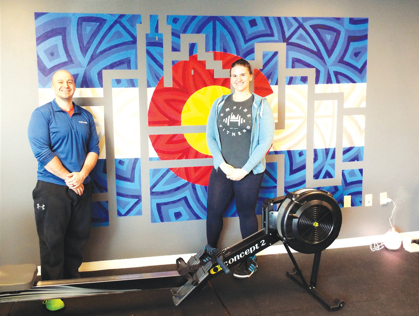 Siblings Jeremy and Amanda Weber opened Empire Fitness on 92nd Avenue in Westminster with the goal of helping encourage fitness and help their clients transform their lives.