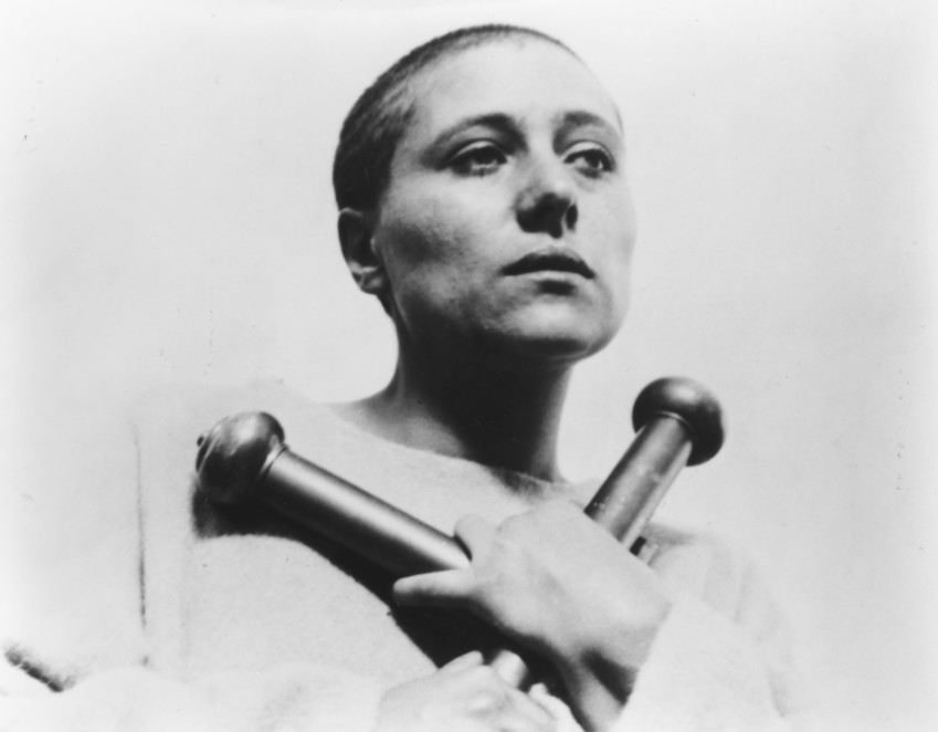 "An image from Carl Dreyer's masterpiece, ""The Passion of Joan of Arc."" The 1928 film will be screened during the seventh annual Denver Silent Film Festival."