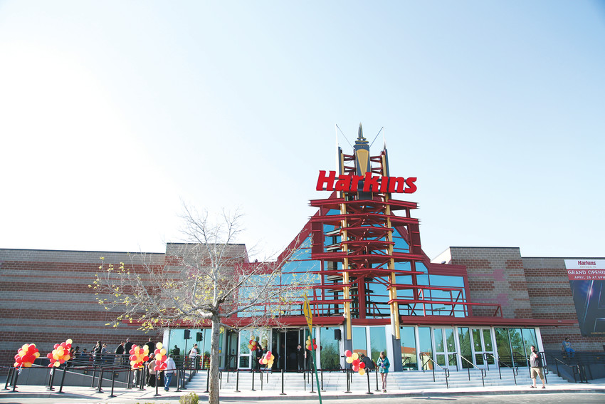 The old Arvada movie theater underwent $14 million in renovations to turn it into the new Harkins Arvada 14.