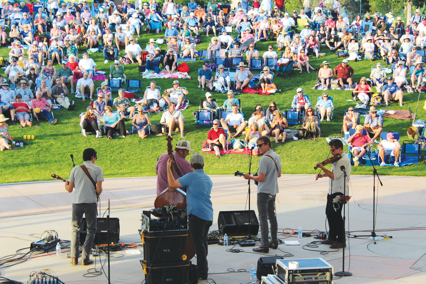 Lakewood's Heritage Center will be full of concert goers for the annual Sounds Exciting! Summer Concert Series.