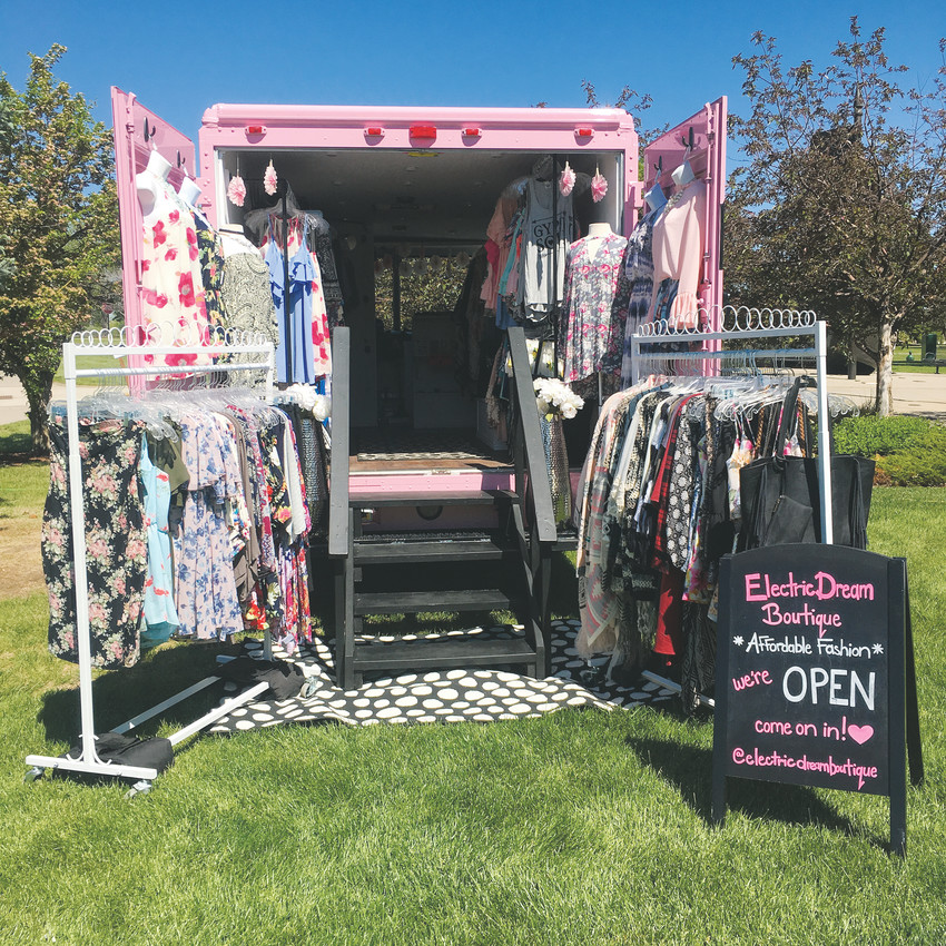 Open doors allow a peak inside the Electric Dreams Boutique, one of more than 80 trucks expected in Northglenn May 11-13.