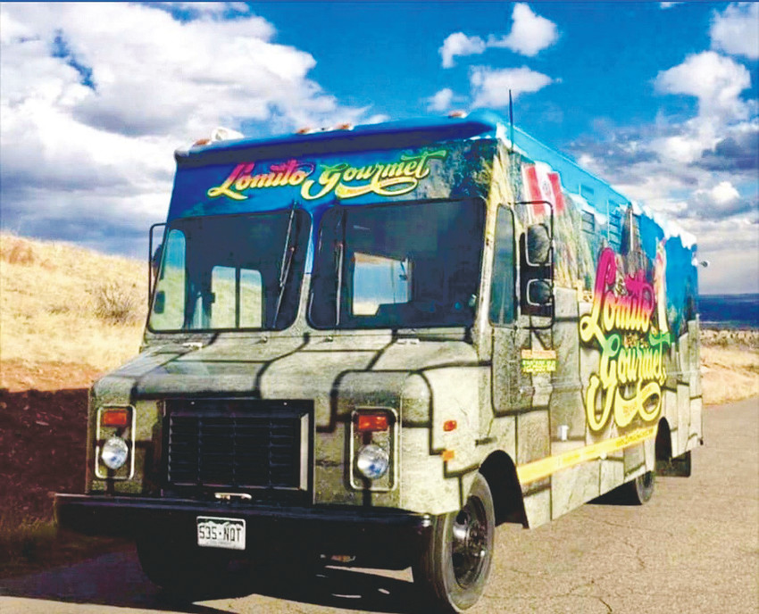 The Lomito Gourmet truck, featuring Peruvian-American dishes with hints of Japanese and French tastes.
