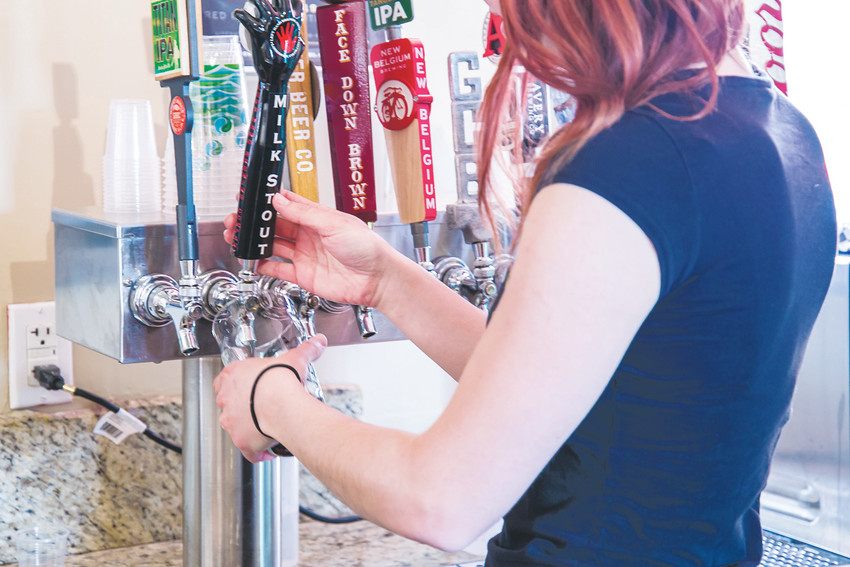 The new Red Rocks Beer Garden in Morrison features 12 Colorado beers.