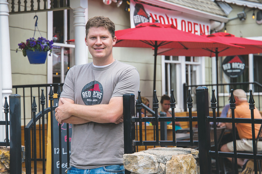 Paul Thompson, owner of the new Red Rocks Beer Garden, is hosting an official opening party on May 12. The new garden features 100 percent Colorado beers and food.