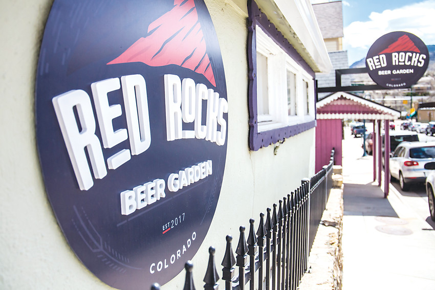 The Red Rocks Beer Garden garden features 100 percent Colorado beers, wines and foods, and offers a historic cottage and garden for customers' drinking pleasures.